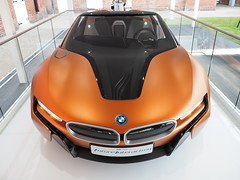 Future BMW, Goodwood Festival of Speed 2016 (Hammerhead27) Tags: auto orange black car modern view front voiture badge future bmw fos goodwood 2016 festivalofspeed ivision