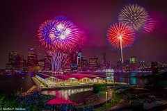 4th of July (Nedko Nedkov) Tags: new york nyc usa america day fireworks 4th july independence 2016