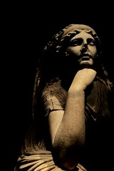Roma, Palazzo Massimo (franz_brocchi) Tags: italy sculpture art goddess marble deity android antiquity ancientrome classicalera wwwmscfotoit