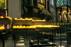 Candles (justfordream) Tags: church germany deutschland candles capital kirche nrw dsseldorf altstadt oldtown kerzen lambertuskirche