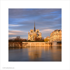 Notre Dame Cathedral, Paris (Ian Bramham) Tags: paris sunrise cathedral notre dame ianbramham
