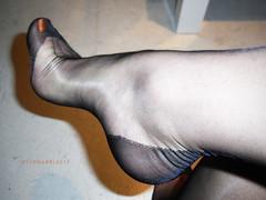 R0013770 - For my foot lovers (nylongrrl) Tags: red black feet stockings shiny toes highheels arch shine legs style polish glossy nails heels hosiery gloss heel outline cuban ankle nylon toenails fully ffs nylons perlon garment fashioned seams collant seamed ffn rhts archsatin