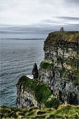 The Cliffs of Moher,  April 2013 (Sorcha N Conchubhair) Tags: ocean ireland sea mountain history galway bay cliffs atlantic