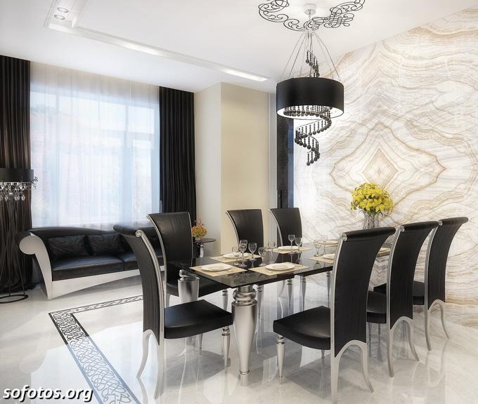 Salas de jantar decoradas (170)