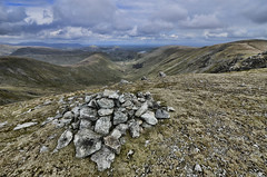 Rampsgill Head One (mjb868) Tags: mountains clouds walking landscape nationalpark scenery solitude lakes lakedistrict rocky trail cumbria fells mountaineering vista peaks tarn rugged rambling moorland d7000 mjb868