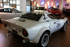 Lancia Stratos HF (EuropeAuto) Tags: auto classic cars car de europe nissan performance voiture course collection le rallyes antibes rallye lancia stratos vente hf vhicule achat cannet