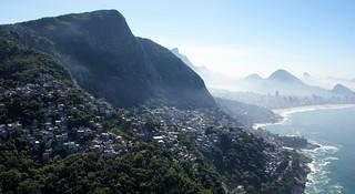 Vidigal, Leblon e Ipanema. Rio de Janeiro, Brasil