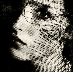 (lizdalziel57) Tags: portrait bw face blackwhite netting artlibre