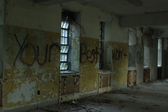 Your Best Won't Do (Reid A.) Tags: park urban hospital island graffiti long destruction kings exploration asylum psychiatric
