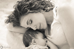 Beautiful Bliss (Diana Odom (disneywifey)) Tags: family portrait blackandwhite baby love blackwhite mother mothers motherhood motherandchild babyportrait motherportrait