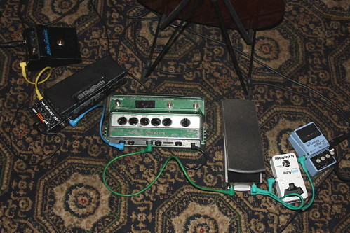 Musical Instrument Accessories 05 - Effect Pedals (of John Etheridge)