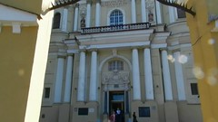 Vilnius Iglesia de San Pedro y San Pablo Lituania video 01 (Rafael Gomez - http://micamara.es) Tags: church saint de ir paul video san y pablo iglesia pedro peter petro lithuania vilnius lietuvos lituania banyia vilniaus v povilo