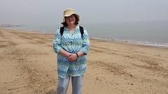 20130619_130635.jpg (Carol B London) Tags: me june ferry port suffolk sharon carol essex felixstowe harwich dayout ourdayout june2013