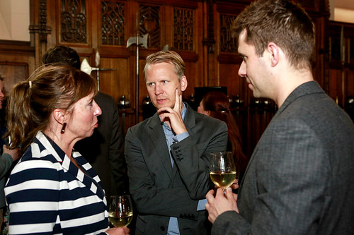 Guests attending the Edinburgh Castle Reception