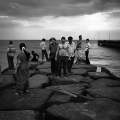 Pondicherry pier