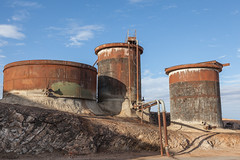 Old Tanks (Serendigity) Tags: abandoned metal silver mine desert australia mining newsouthwales outback rusting lead derelict tanks brokenhill zinc