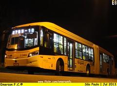 3 3464 - V.I.P. unidade Imperador (Emerson F.C.®) Tags: bus mercedesbenz ônibus articulated brt brs articulado o500ua induscar millenniumbrt