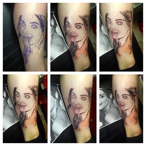 Mila Kunis Tattoo
