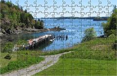 Chocolate Cove jigsaw (Ultrachool) Tags: new water brunswick mayer deerisland coastalscenery jigsawpuzzles