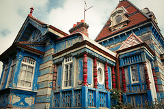 Wooden House (Masterbutler) Tags: old ireland color fairytale haunted colourful woodenhouse wexford fantasyhouse