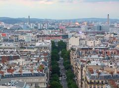 Mona Lisa (Simon_K) Tags: urban paris france high lookingdown arcdetriomphe parisian birdseye vantage francais parisien pariswander pariswanderblogspotcouk