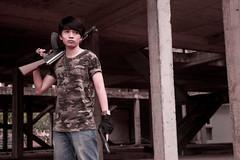 11_DSC_221620130810 (Maximus Prime 0810) Tags: soldier fire fight gun action rifle ak doom m4 commando