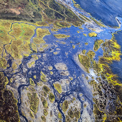 20120801-_MG_0594-Edit (Gunnar Orn Arnason) Tags: summer abstract nature water landscape iceland sand day air glaciers birdseyeview overview