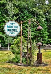 recycled spirits of iron sculpture park (Pattys-photos) Tags: park sculpture ex washington elbe nihilo