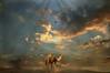 Camel - the ship of the desert (Mara ~earth light~) Tags: sky texture clouds photoshop desert camel creativecommons intuition poweranimal moodcreations photographymypassion mara~earthlight~