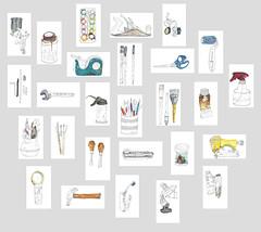 (Catalina Moreno Munvar) Tags: life art catalina day arte drawing cotidiano objects line every common dibujo moreno objeto artista habitual lnea invetario munvar