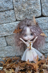 Pompeiia~Playing in the Leaves!