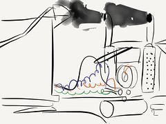 big rig (translated10) Tags: truck big drawing rig 53 paperapp