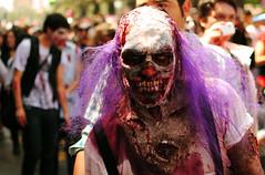 (Julin Arias Maetschl) Tags: chile santiago latinamerica portraits zombie retratos zombies payaso clow payasos zombiewalk