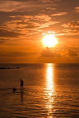 Sunset Haad Salat, Koh Phangan (Terra eVita) Tags: ocean trip travel viaje sunset sea sky sun holiday beach nature water clouds landscape thailand island bay boat sand nikon scenery asia southeastasia honeymoon playa beachlife ao kohphangan koh isla gulfofthailand suratthani haad southernthailand haadsalat