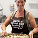 Dianne from Traveletto and her excellent marinated mushrooms