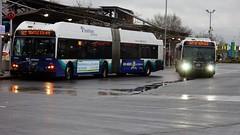 Out of Service (Shane in the City) Tags: seattle bus station publictransit transportation publictransport everett soundtransit metrotransit newflyer communitytransit kingcountymetrotransit