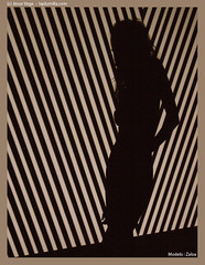 Sombra rayada (FotoVideoPasion) Tags: studio fuji sombra estudio modelo finepix zaloa s9600 laplumillacom