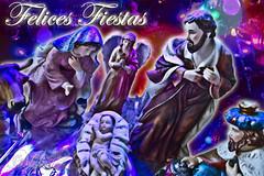 Felices Fiestas (Alebrije Comunicacin) Tags: christmas xmas navidad noel sagradafamilia nativity nacimiento holyfamily natividad niodios niojess