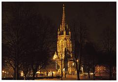 Marlow - All Saints Church (Maw*Maw) Tags: church night photoshop canon eos 50mm shot ps marlow 50d cs5