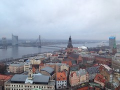 Riga's panorama (Kostyaa_) Tags: clouds wow photo flickr day riga greatphoto uploaded:by=flickrmobile flickriosapp:filter=nofilter