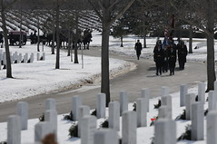 Old Guard helps lay to rest fallen 1st Inf. Div. Soldier (3d U.S. Infantry Regiment (The Old Guard)) Tags: old guard funeral arlingtonnationalcemetery honorguard oldguard theoldguard peterbohler bennavratil