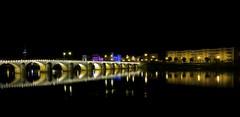Macon by night (Cheeky_Aurore) Tags: bridge light water night river dark lights town eau noir lumire sony rivire sombre lumiere pont nuit dsc ville macon rx fleuve rx100 dscrx100 sonydscrx100 vision:outdoor=0955 vision:cloud
