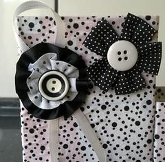Detalhe do porta treco feito de caixas de leite! (Cantinho do Patch by Talissa) Tags: portatreco caixadeleite