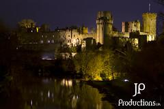 Warwick Castle (Jigsaw-Photography-UK) Tags: castle night river warwick jpproductionsuk