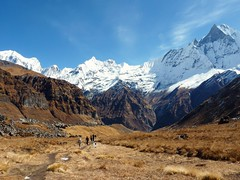 Trekking to Annapurna base camp, Nepal (Inti Runa) Tags: nepal mountain montagne trekking himalaya pokhara annapurna basecamp népal randonnée machapuchare campdebase flickrandroidapp:filter=none