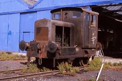L8 Procor Railcar Services, Wellingborough 28/7/1983 (Glevumblues) Tags: diesel trains locomotive railways wellingborough shunter l8 rh393303 procorrailcarservices