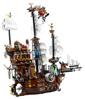 The LEGO® Movie 編號70810 MetalBeard's Sea Cow  盒裝