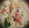 Sempre lindos (Sonhos de Tecido) Tags: artesanato coelho decoração pascoa