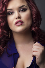 Jessica S (austinspace) Tags: portrait woman studio washington model spokane redhead alienbees makeupexpert