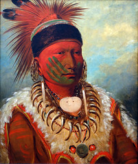 George Catlin, The White Cloud, Head Chief of the Iowas, 1844-45